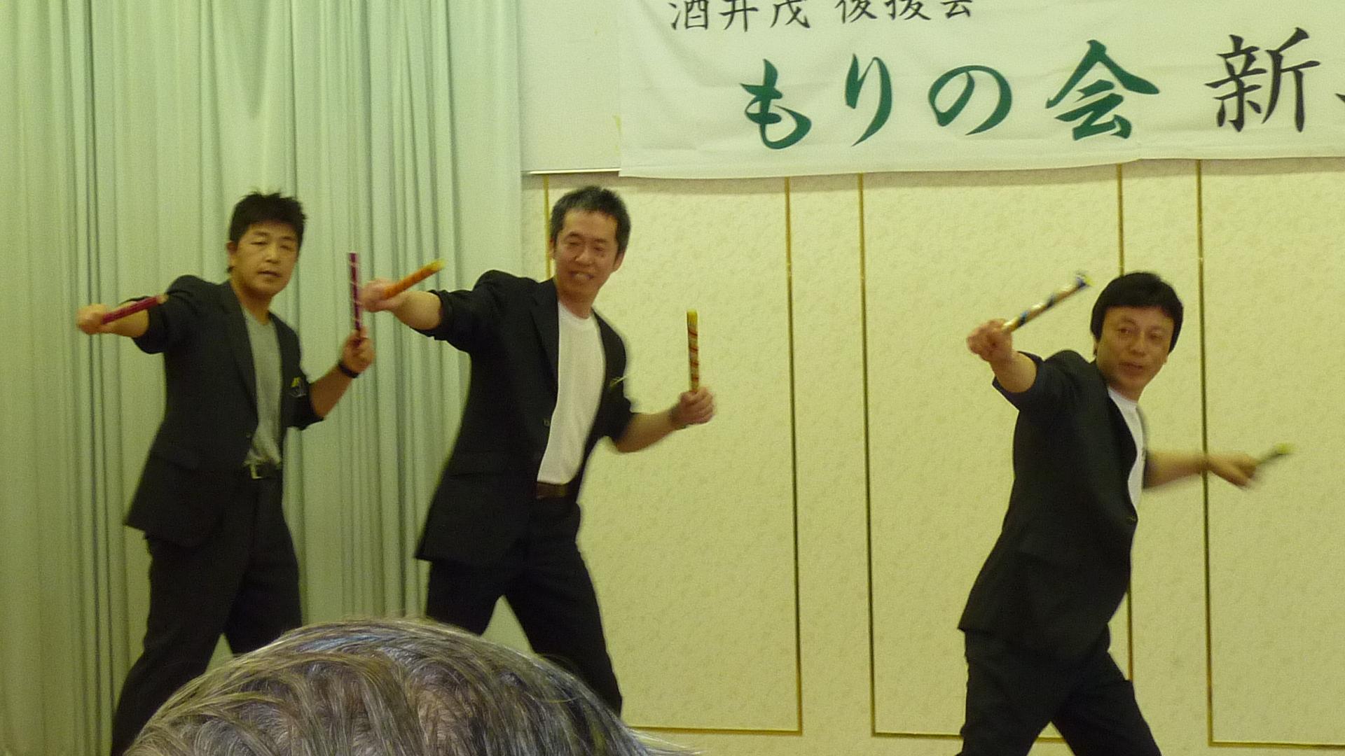 28,1新年会青壮年部ダンス