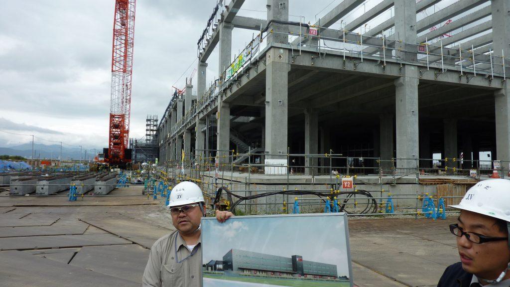 28,9,13団政調会:日本郵政札幌物流センター建設工事PC工法