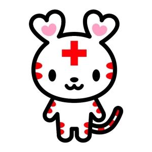 28,11,21献血キャラクターハートらちゃん